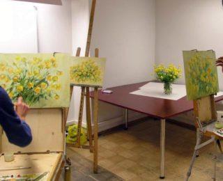 lillemaal maalimine kunst tallinna opetajate maja koolituskeskus kursused meeskonnakoolitus taiendope elukestev ope opituba