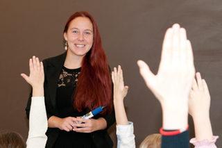 Algõpetuse koolitaja Maria Malozjomov